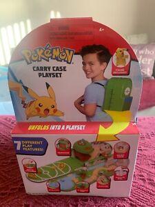 Pokemon Carry Case Figure Playset