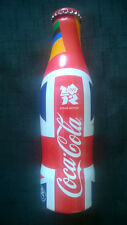 Collectable LONDON OLYMPIC GAMES 2012 Coca Cola Aluminum Bottle UK Coke