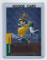 2008 PACKERS Jordy Nelson signed ROOKIE card AUTO Upper Deck SP #180 Autographed