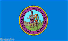 """CHICKASAW NATION INDIAN TRIBE FLAG 5"""" HELMET BUMPER STICKER DECAL MADE IN USA"""