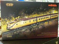 Märklin H0 37603 TEE Diesel ferroviaire VT 11.5 NEUF/EMBALLAGE D'ORIGINE