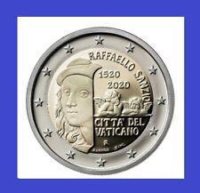 "2 Euro Gedenkmünze Vatikan 2020 ""500. Todestag von Raffaello Sanzio"" BU STG"