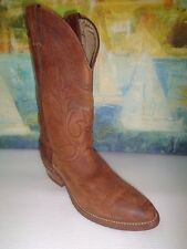 ABILENE WOMEN'S Distressed Brown LEATHER Cowboy/Western BOOTS Size 9