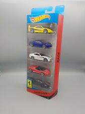 Hot Wheels Ferrari 5-Pack 1/64 - New & Sealed Rare Set -Enzo,F40,458,430,612