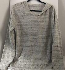 SO Juniors Fleece Hoodie Tunic XL Gray High Low Hem New