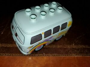 lego duplo car block slope top people bus base pick