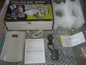 Black Widow Film Scan 2000, Hi Res PC USB 35mm Negative and Slide Scanner, boxed