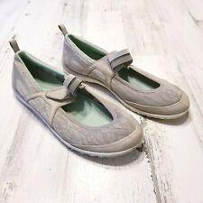 Merrell Enlighten Eluma Breeze Womens Sz 8.5 Gray Mary Jane Walking Hiking Shoes