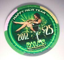 Palms Casino Las Vegas Nevada $25 Chip New Years 2012