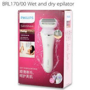 Philips SatinShave Wet and Dry Electric Lady shave Cordless BRL170/00  for Body