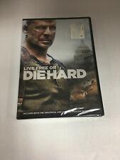 Live Free or Die Hard (Dvd) Bruce Willis Brand New Sealed