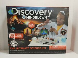 Discovery Education Kids MINDBLOWN Ultimate Science Experiment 17 pc Kit Ages 8+