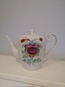 ostfriesische Rose Ostfriesen Dekor Ostfriesland traumhafte Antike Kanne Tee
