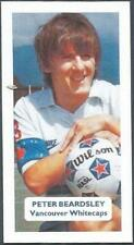 SCORE-FOOTBALL LEAGUE STARS-VANCOUVER WHITECAPS-PETER BEARDSLEY