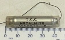 """0.002uF 1000v TCC """"Metalmite Visconol-X"""" capacitor (pack of 5)"""