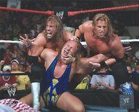 JESSIE VS CURT HAWKINS WWE WRESTLING 8 x 10 LICENSED PHOTO NEW # C12