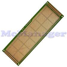 Drilled Single sided Copper Prototype PCB Matrix Epoxy Glass Fibre Board 70x200