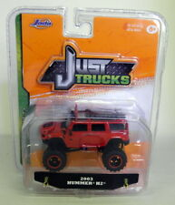 Jada 1/64 Scale - 2003 Hummer H2 Red Diecast Model Car