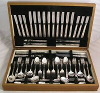 MORNING STAR Design COMMUNITY Silver Service 100 Piece Canteen of Cutlery