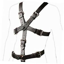 Man Full Body Chest Harness Detachable Groin Strap with O Ring Thong Gay Costume