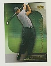 2004 Upper Deck Golf CHAMPIONSHIP PORTFOLIO CP18 TIGER WOODS US OPEN PGA MASTERS