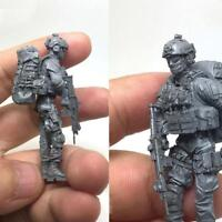1 35 scale resin model figures kit Modern Russian Soldiers e3