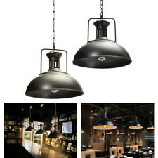 Industrial Pendant Iron Ceiling Light Fixture Lamp Hanging Chandelier Vintage AU