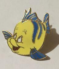 Disney Flounder The Little Mermaid Hat Pin Brooch Tie Tack Never Used