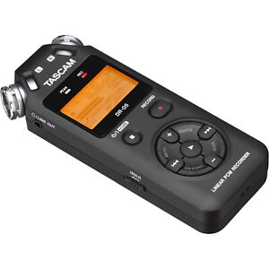 Tascam DR-05 - Portable Digital Recorder (Black)