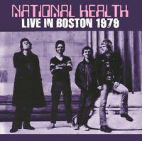 NATIONAL HEALTH LIVE IN BOSTON 1979 2CD GALAXY GX060A B PROGRESSIVE ROCK BAND