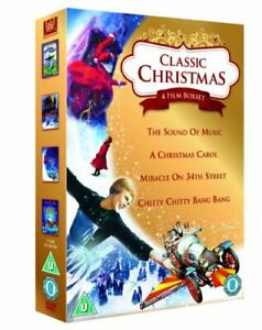 Classic Christmas 4 Film Collection: The Sound of Music, A Christmas[Region 2]