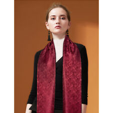 Seide Schals Herren Damen Unisex Designer Rot Paisley Schal Tücher