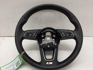 2018 AUDI A5 F5 Multifunctional Black Leather S Line Steering Wheel 8W0419091CR