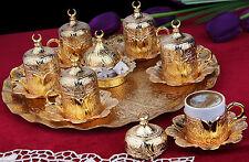 27 Pezzo Ottomano Turco Greche Arabo Caffè Espresso Servire Piattino Della Tazza