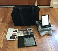 Mary Kay Quilted Consultant Bag with Mirrors, Trays & Samples