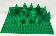 LEGO LOT ARBRE TREE + GREEN BASEPLATE
