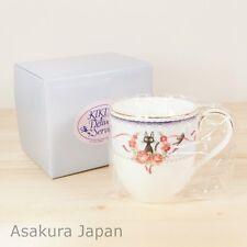 Kiki's Delivery Service Noritake Mug BLUE tea cup Studio Ghibli Bone china