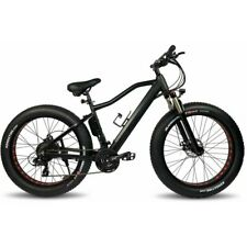 "ZIPPER STEALTH ELECTRIC BIKE FAT BIKE 26"" MTB 10AH - MATT BLACK"