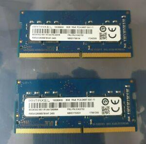 Ramaxel PC4-19200 PC4 2400T 16GB 2X8GB DDR4 1RX8 2400MHz 260pin Laptop Memory