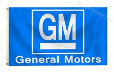 GM General Motors Flag Banner 3X5Ft Wall Decor Garage Shop Large Banner