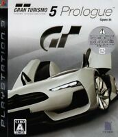 PS3 Gran Turismo 5 Prologue Spec III PlayStation 3 Japan F/S