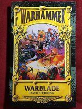 Warhammer Warblade by David Ferring - NEW