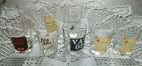 Lot de 8 verres à Whisky Collection