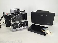 Vtg POLAROID 250 Range Finder Camera Zeiss Lens Rare Retro Film Instant Art 70s