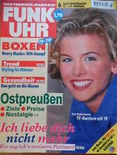 FUNK UHR 6 - 1995 5* TV: 11.-17.2. Eva Habermann boxen Michalczweski-Maske