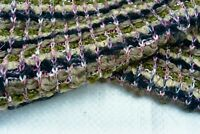 Bucle Punto Grueso Lujo Mezcla Lana Multi Color Olive-Navy-Sage Medio Tonos D253