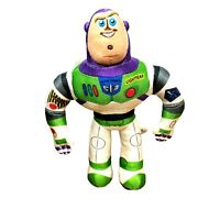 Disney Pixar Buzz Lightyear Toy Story 4 Plush Stuffed Toy Space Ranger Sewn Eyes