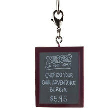 Kid Robot - Bob's Burgers Vinyl Keychain -CHORIZO YOUR OWN ADVENTURE BURGER SIGN