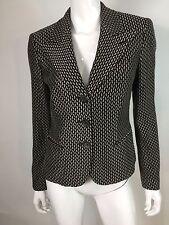 Giorgio Armani Women's Brown Patterned 2-Button Blazer Jacket ITALY Size 44/10