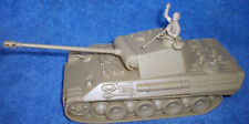 WWII German Panther tank toy soldier CTS (tan)